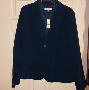 NY&Co Teal Blazer, Size 18